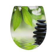 Toiletzitting Cedo Wellness en Stone Softclose Veelkleurig
