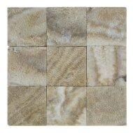 Mozaïek Parquet 10x10 Sunset Brown Marmer 30x30 cm (Prijs per 1m²)