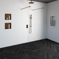 Doorloopdouche Compleet Just Creating Profielloos 100x200 cm Koper