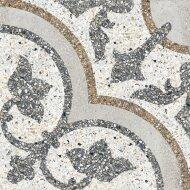 Terrazzo tegels Casale Siena grigio 25x25 (Doosinhoud 0,75 M²)