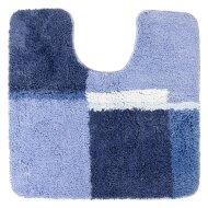 Toiletmat Differnz Cubes Antislip 60x60 cm Nylon Blauw