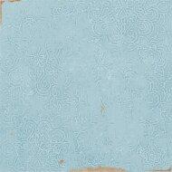 Vtwonen Wandtegel Craft Aqua Glans Deco 12.4x12.4 cm (Doosinhoud 0.42 m2)