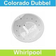 Ligbad Riho Colorado 180 x 180 cm Balboa Whirlpool systeem Dubbel | Tegeldepot.nl