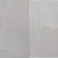 Vtwonen Wandtegel Craft Light Grey Glans Deco 12.4x12.4 cm (Doosinhoud 0.42 m2)