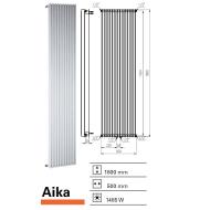 Designradiator Aika 1800 x 500 mm Mat Zwart