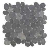 Mozaïek Oval Gray Marmer 30x30 cm (Prijs per 1m²)
