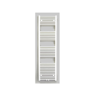 Radiator Sanicare Middenaansluiting Recht 864 Watt Inclusief Ophanging 160x45 cm Wit