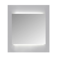 Spiegelkast Sanicare Qlassics Ambiance 60 cm 1 Deur Zijdeglans Wit