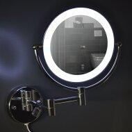 Wand scheer spiegel Wiesbaden met LED verlichting