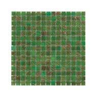 Mozaïek Amsterdam Goud 32.2x32.2 cm Glas Met Goud Ader En Groen (Prijs Per 1.04 m2)