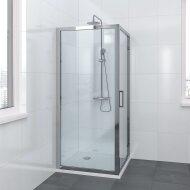 Bruynzeel Zijwand Lector 100 x 200 cm 8 mm Helder Glas Aluminium