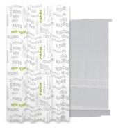 Douchegordijn Differnz Urbes Polyester 180x200 cm