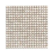 Mozaïek Natural Stone 30.5x30.5 cm Ongeïmpregneerd, Marmer Botticino Anticato Beige (Prijs Per 1.00 m2)
