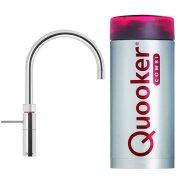 Quooker Fusion Round Chroom met Combi Boiler