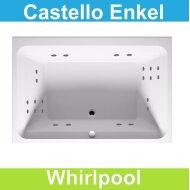 Ligbad Riho Castello 180x120 cm Whirlpool Enkel systeem