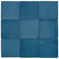 Wandtegel Roca St Tropez 13x13cm Azul Donkerblauw Glans