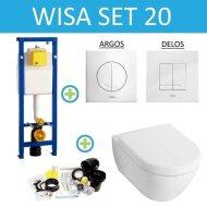 Wisa XS set20 Subway 2.0 (Met Argos of Delos drukplaat)