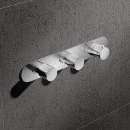 Douchethermostaat Hotbath Buddy Inbouw 2 Stopkranen Horizontaal Chroom