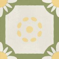 Portugese Vloertegel Jos Hidro Teatime Lime 19.7x19.7 cm (doosinhoud 1.20m2)