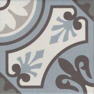 Vtwonen Douglas & Jones Vloer en Wandtegel Vintage Lilou Blue 20x20 cm