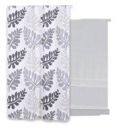 Douchegordijn Differnz Folia Polyester 180x200 cm Grijs