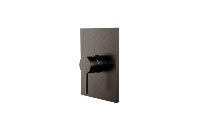 Inbouw Douchekraan Herzbach Design IX PVD-Coating Zwart