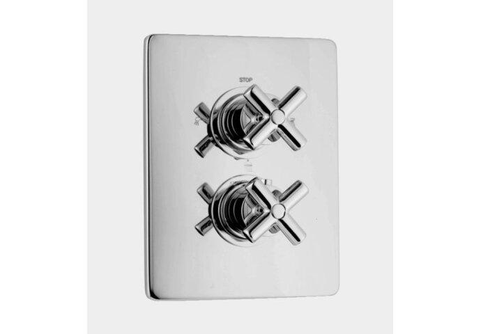 Huber Suite Inbouw thermostaat met 3-weg omsteller 367Q01HNS