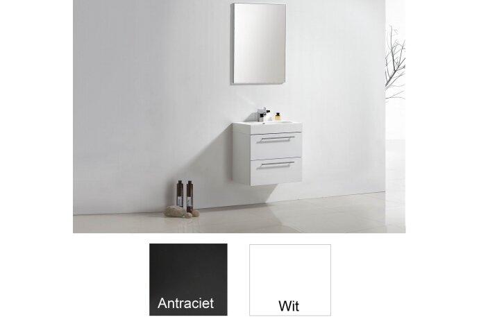 Badkamermeubelset Sanilux Compactline 60x38x50 cm (in twee kleuren leverbaar)
