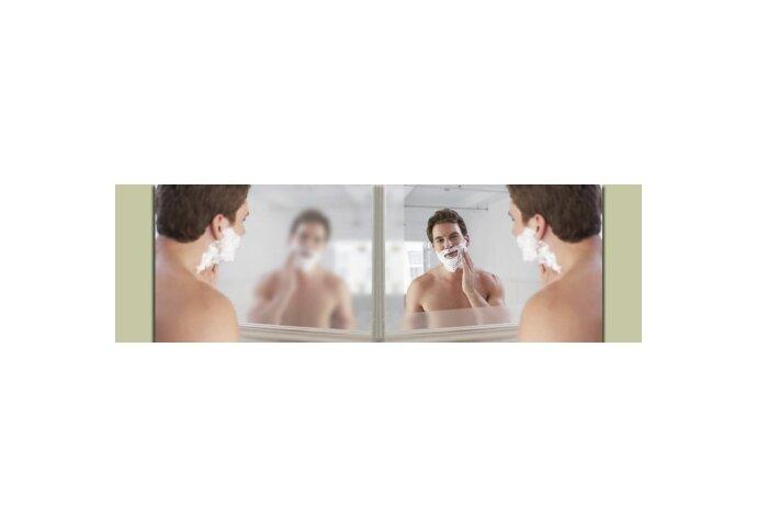 Spiegelverwarming 40x70cm / 80 Watt. tbv spiegel 90 cm