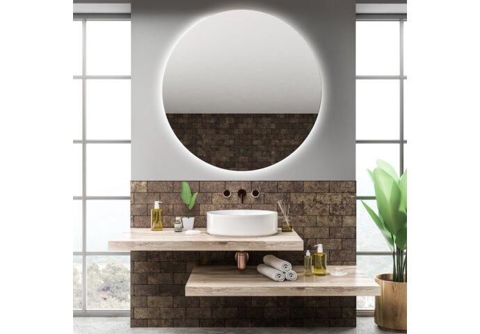 Spiegel Gliss Design Oko Rond LED Verlichting 80cm