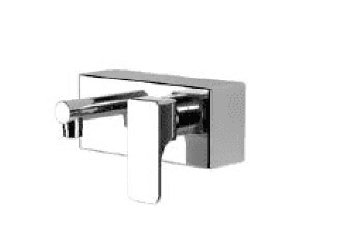 Cisal Cubic opbouw wastafelkraan chroom CU00044021