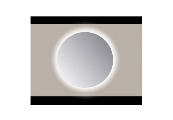 Spiegel Rond Sanicare Q Ambi Cold White LED PP Geslepen (Zonder Sensor) (ALLE MATEN)