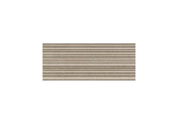 Wandtegels Metropoli Brown decor Slot 20x50 (Doosinhoud 1 m²)