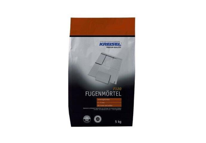 Voegmiddel Kreisel F120 voor vloer en wand Grijs 5 KG