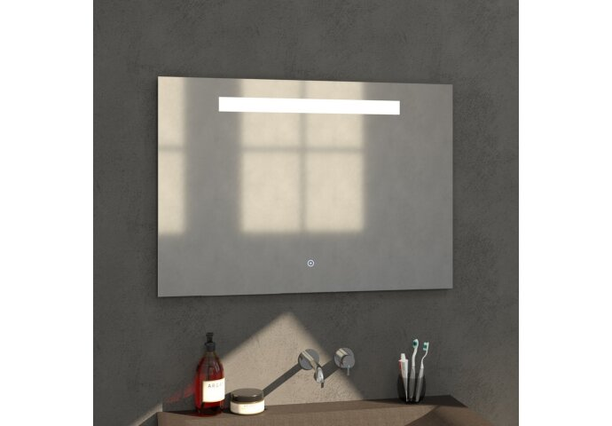Badkamerspiegel met LED Verlichting Sanitop Light 100x70 cm