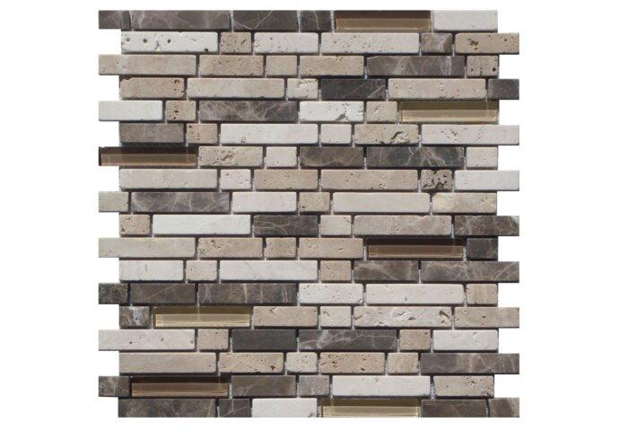 Mozaiek Tegel Narda 28x30 cm (Prijs per stuk)