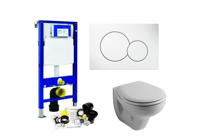 Geberit UP320 Toiletset set03 Sphinx Econ || met Sigma drukplaat