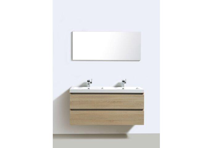Badkamermeubelset Sanilux Trendline 120x47x50 cm Light Wood