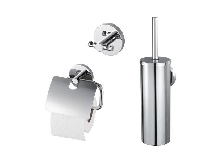 Toiletset Giftbox Haceka Aqualux PRO2000 Chroom