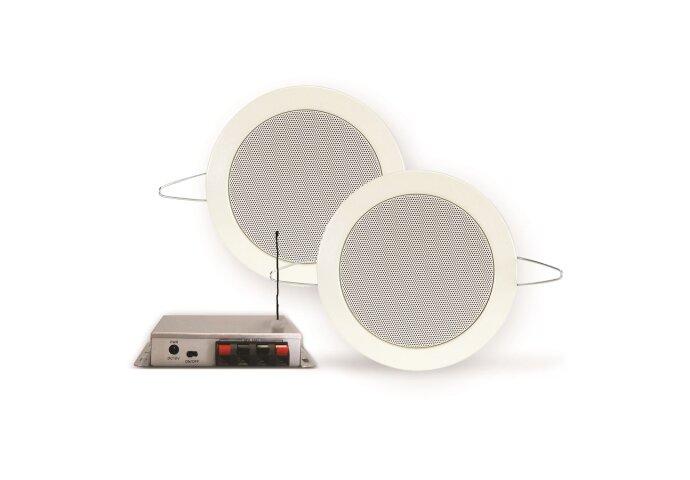 Bluetooth Music Center Aquasound 35 WATT / BT4.0 + Twist Speakerset