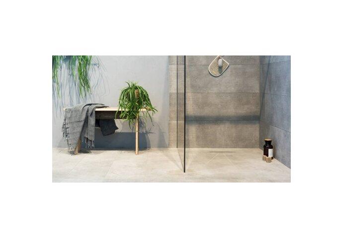 VT Wonen Vloer en Wandtegel Mold XL Cement 90x90 cm (Doosinhoud 1.62 M²)