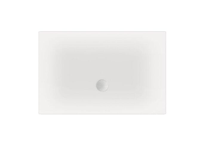 Douchebak BeterBad Flat Wit zelfdragend 100x90x3.5cm