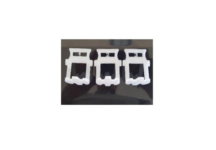 Tile Leveling Spacers Voetstukken 2 mm 200 Stuks Wit