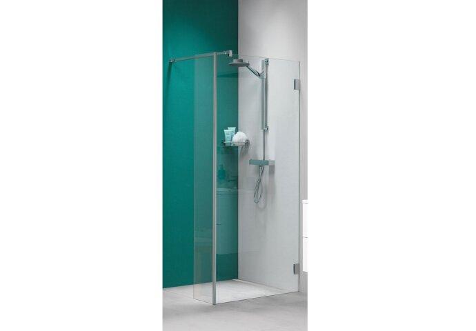 Inloopdouche Get Wet by Sealskin 'I AM' Type A1 90x200 cm Chroom/Zilver Helder Antikalk + Zijdeel 30x200 cm