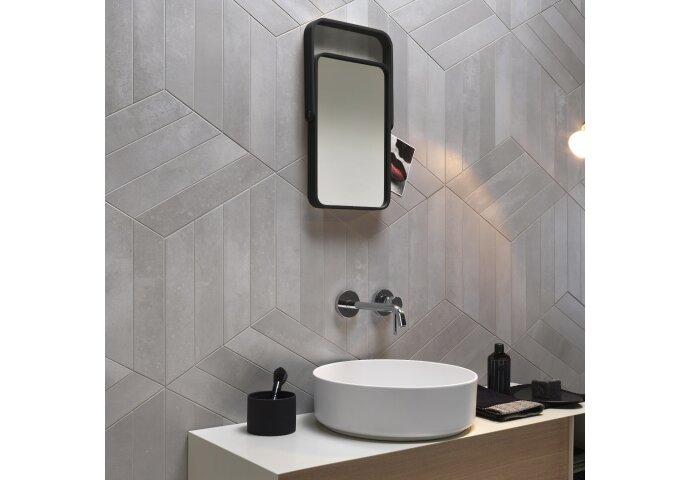 Vtwonen Vloer en Wandtegel Metals Steel Nat 60x60 cm (doosinhoud 1,44 m2)