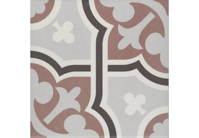 Douglas & Jones Vloer en Wandtegel Vintage Flow Marron 20x20 cm
