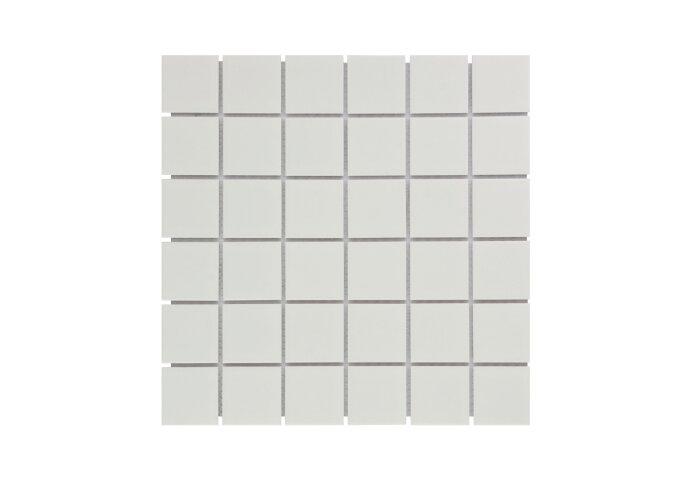 Mozaïek Barcelona 30.9x30.9 cm Geglazuurd Porselein Mat Wit (Prijs Per 0.95 m2)