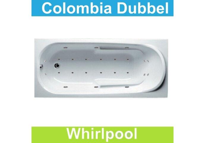 Ligbad Riho Colombia 150 x 75 cm Whirlpool Dubbel systeem
