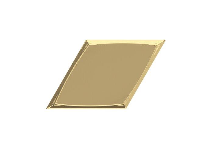 Wandtegel Zyx Metallic Zoom Gold Gloss 15x25.9 cm Glans Goud