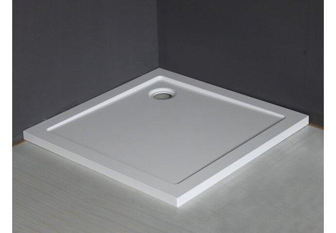 Luxe douchebak SMC vierkant 90 x 90 x 4 cm wit